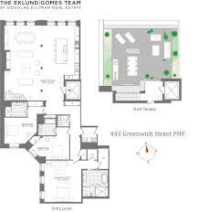 100 Greenwich Street Project 443 PHF New York NY 10013 Sales Floorplans