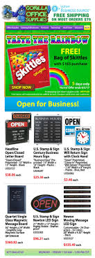 Gorilla Office Supplies - Skittles Candy - Free - 5 Days Only!
