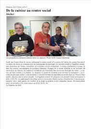 atelier cuisine centre social 20 11 2016 la depeche atelier cuisine