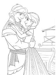 Download Frozen Coloring Pages 9 Print