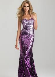 sparkly sequin purple ombre gown night moves prom dresses 6627