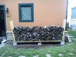Outdoor Firewood Rack Doherty House Outdoor Design Firewood Racks