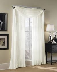 Searsca Sheer Curtains by Bedroom Curtains Hampton Sheer Voile Scarf Valance Dream Home