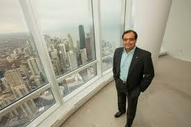 100 World Tower Penthouse CHICAGOAREA TECH PIONEER SANJAY SHAH REACHES NEW HEIGHTS WITH