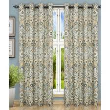 floral grommet curtains drapes you ll love wayfair