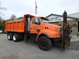 100 Plow Trucks For Sale 2001 Sterling LT9500 Spreader Truck Phillipston MA
