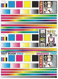 Colour Magicinkjetflush Ebay Print Test Color