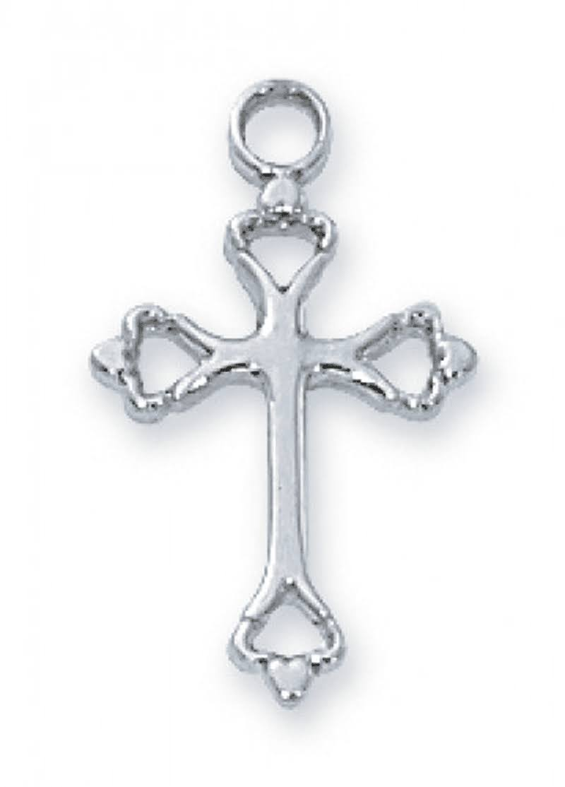 McVan-Sterling Silver Cross