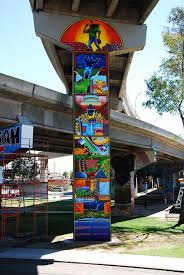 Chicano Park Murals Map by Chicano Park Restored Mural Michael Schnorr Presente Flickr