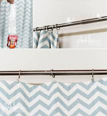 Extendable Curtain Poles by Fix Telescoping Curtain Rod Bumps The Quick And Dirty Pinkle