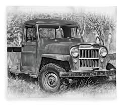Willys Jeep Pickup Truck 2 Bw - Paint Fleece Blanket For Sale By ... 136184 1940 Willys Pickup Rk Motors Classic And Performance Cars 1962 Jeep Overland Front Left View Products I Love Hemmings Find Of The Day 1950 473 4wd Picku Daily 1951 Jeep Kaiser Willys Willy Pickup Truck Frame Rust Free Nice Gateway 936det 1963 For Sale 2120330 Motor News Pivnic 1957 Specs Photos Modification Info At Cardomain Truck Hot Rod Image 178 Stinky Ass Acres Rat Offroaderscom 1941 1880014 Willys Truck Related Imagesstart 150 Weili Automotive Network Rare Aussie1966 4x4 Vintage Vehicles 194171