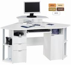 Small White Corner Computer Desk Uk by Amazing Of Corner Computer Workstation Desk Stunning Home Office