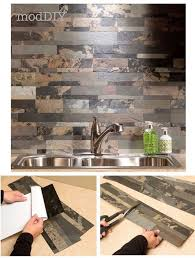 Peel And Stick Groutable Tile Backsplash by 175 Best Peel And Stick Backsplash Images On Pinterest Sticks