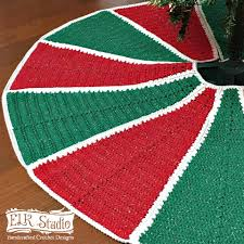 Donner And Blitzen Christmas Trees by Christmas Tree Skirt Archives Elk Studio Handcrafted Crochet