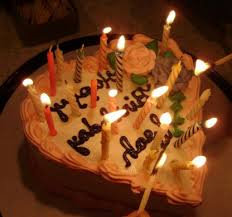 Happy Birthday Chocolate Cakes With Candles Chocolate Birthday Cake With Candles 3