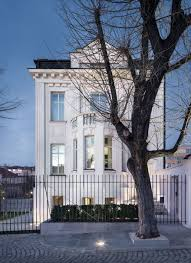 100 Concrete Home Classic White House Rebuilt In Stara Zagora Bulgaria