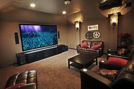 78+ Modern Home Theater Design Ideas 2017 - RoundPulse | Round Pulse Home Cinema Design Ideas 20 Theater Ultimate Fniture Luxury Interior And Decorations Modern Theatre Exceptional View Modern Home Theater Design 11 Best Systems Done Deals Contemporary Living Room Build Avs Room Cozy Ideas Inside Large Lcd On Blue Wooden Tv Stand Connected By Minimalist Awesome Houston Photos Decorating Pictures Tips Options Hgtv Basement Ashburn Transitional