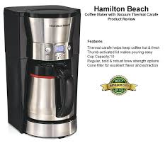 10 Cup Coffee Maker With Thermal Carafe Bunn
