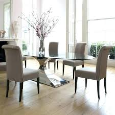 Ikea Dining Table And Chairs Upholstered Unique Creative Glass 4