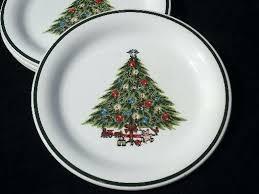 Christmas Tree Dinnerware Classy Inspiration Sets Dishes Shop Dollar Set Fiesta Dinner
