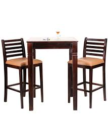 Cartagena Two Seater Dining Table Set In Colonial Maple
