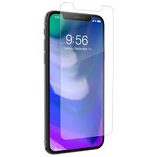 InvisibleShield by ZAGG HD Glass Screen Protector for iPhone X