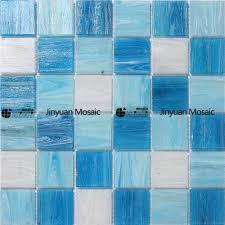 Blue Mosaic Bathroom Mirror by Blue Glass Mosaic Bathroom Tile Design Golden Mosaics Mosaic