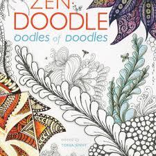Zen Doodle Oodles Of Doodles Adult Coloring Activity Book 100 Designs