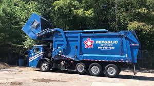 100 Garbage Truck Video Youtube Republic Services 1218 Mack LE Heil Front Loader YouTube