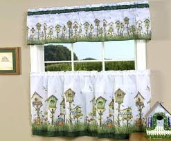 Target Cafe Window Curtains by Kitchen Curtains Valances Target Sears Cafe Black And White