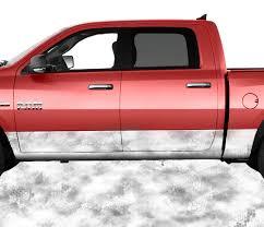 100 Truck Kits Chameleon Camo Snow Rocker Panel Wrap Graphic Decal Wrap Kit
