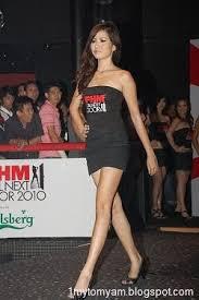 1 MAI TOMYAM Hot and night in FHM Girl Next Door 2010 Finale