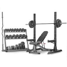 Amazon Adjustable Olympic Squat Rack Bench Press And