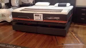 Adjustable Bed Base Split King by Serta Adjustable King Size Bed Youtube
