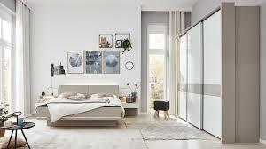 interliving schlafzimmer serie 1009 komplettzimmer mit extras weiß kieselgrau holzfüße siebenteilig