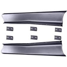 100 Truck Running Boards 19471955 Chevy Smooth Board Set WAdapters