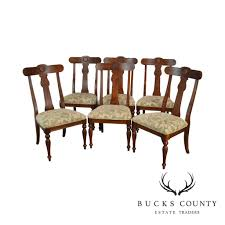 Ethan Allen British Classics Empire Style Set Of 6 Dining Chairs ... Baroque Ding Chair Black Epic Empire Set Of 6 Swedish Bois Claire Chairs 8824 La109519 Style Maine Antique Fniture Ruby Woodbridge Arm Stephanie Side Shown In Oak With An Asbury Brown Finish Amish 19th Century Walnut Burl Federal Cane Seat Six Gondola Barstool 210902427 Barchairs And Leather The Khazana Home Austin Crown Mark 2155s Upholstered Casa Padrino Luxury Armrests