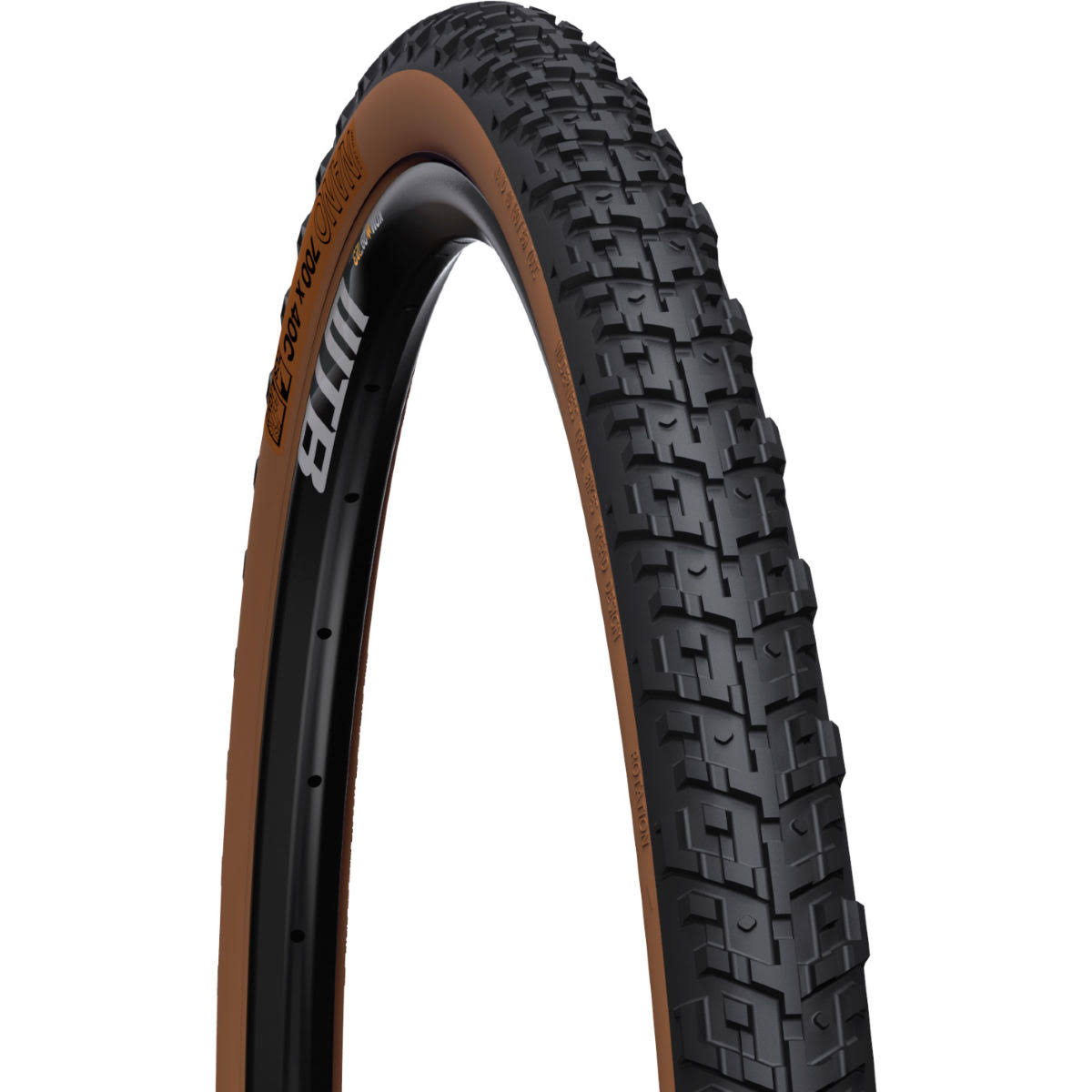 WTB Nano 700 x 40C TCS Light FR Tire (Tan)
