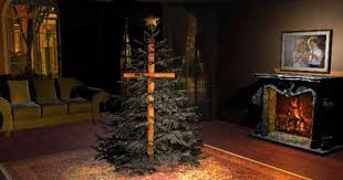 A Christmas Tree Cross
