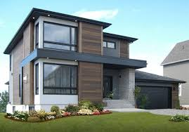 100 Modern Stucco House Two Story House With Different Facade Cladding Design