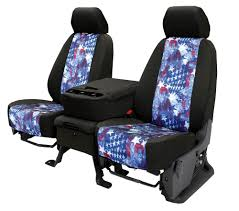 100 Custom Seat Covers For Trucks CalTrend USA American Flag Fit Car Truck Made