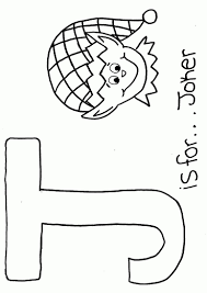 Letter J Animal Coloring Pages