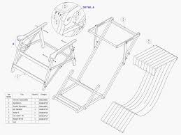 wooden beach chair plans free plans diy free download plant shelf