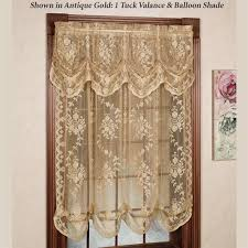 Boscovs Lace Curtains by Charming Balloon Shade Curtains And Jessica Voile Sheer Balloon