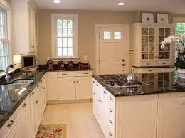 Wonderful White Cabinets Granite Countertops Kitchen Kitchen
