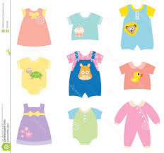 Children Spring Clothes Clipart
