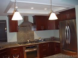 kitchen bath remodel recessed kitchen ceiling crown molding led