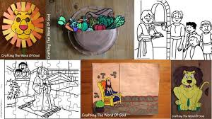 Daniel Crafts Coloring Pages And Activity Sheets