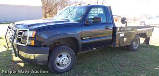 100 5 Window Chevy Truck For Sale 2006 Chevrolet Silverado 300 Bale Bed Pickup Truck Item D