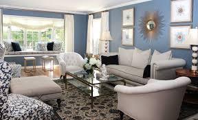 Impressive Grey And Blue Living Room Ideas Modest Black